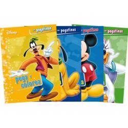 Cuento con Pegatina y Actividades Disney 12 Páginas (NO SE PUEDE ELEGIR)