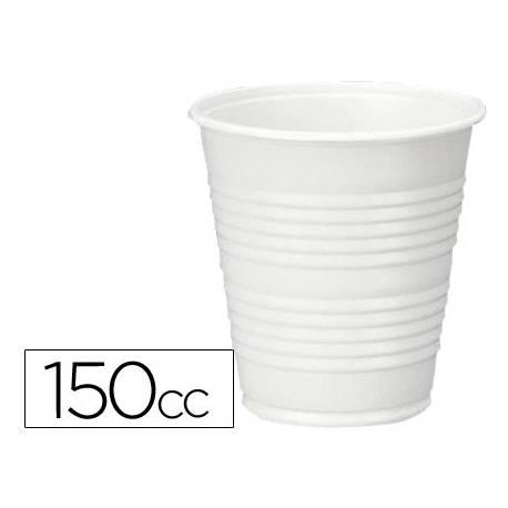 Vaso de plástico blanco 150 cc