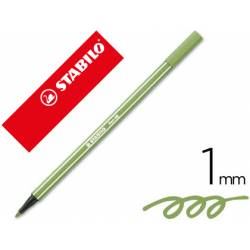 Rotulador Stabilo 68/43 Verde hoja 1 mm