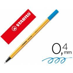 Rotulador Stabilo point 88/32 Azul Ultramar