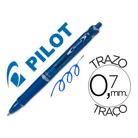 Boligrafo Pilot Acroball Azul 0,7 mm