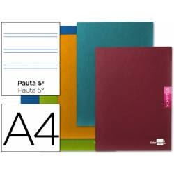 Libreta escolar marca Liderpapel Scriptus pauta 2.5 mm