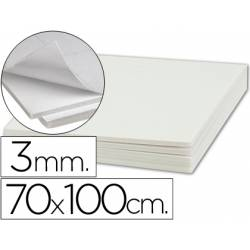 Carton pluma Liderpapel adhesivo 70 x 100 cm Espesor 3 mm