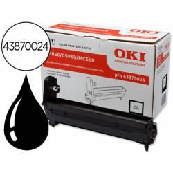 Tambor OKI negro XL -20000pag- (43870024) C5850 C5950