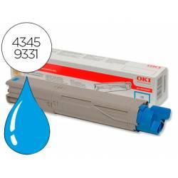 Toner OKI cyan -2500 pag- type c9 (43459331) C3300 C3400 C3450