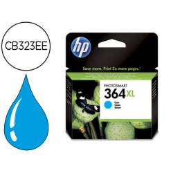 Cartucho HP 364XL color Cian CB323EE