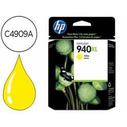 Cartucho HP 940XL color amarillo C4909A