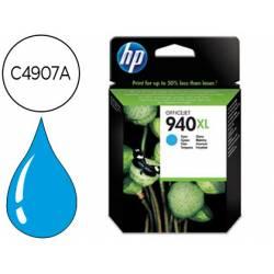 Cartucho HP 940XL color Cian C4907A