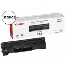 Toner Canon crg 712 negro laser 1870B002 lbp3010/3100