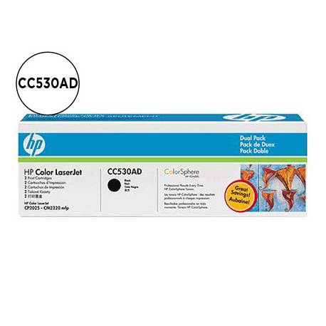 Toner HP 304A CC530AD color Negro