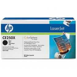 Toner HP 504X CE250X color Negro