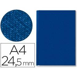Tapa de Encuadernación Cartón Leitz DIN A4 Azul 245 hojas