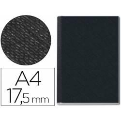 Tapa de Encuadernación Cartón Leitz DIN A4 Negra 175 hojas