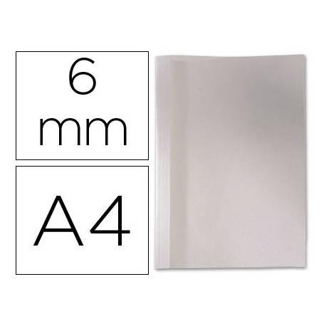 Carpeta termica GBC Pvc y cartulina color blanco 6 mm pack 100 unidades