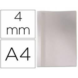 Carpeta termica GBC Pvc y cartulina color blanco 4 mm pack 100 unidades