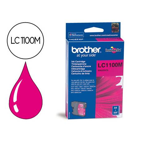 Cartucho Brother LC-1100M Magenta