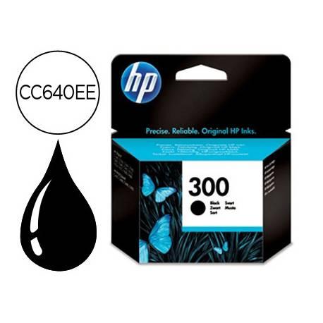Cartucho HP 300 color Negro CC640EE