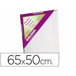 Bastidor Lienzo marca Lidercolor 65x50 cm