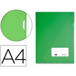 Funda dossier uñero con solapa Liderpapel Din A4 color verde