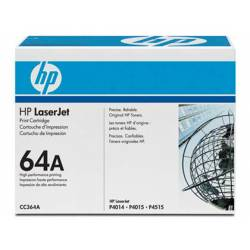 Toner HP 64A CC364A color Negro