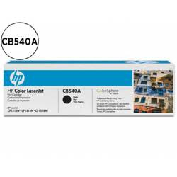 Toner HP 125A CB540A color Negro