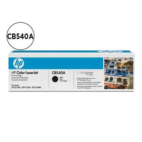 Toner HP 125A CB540A color Negro