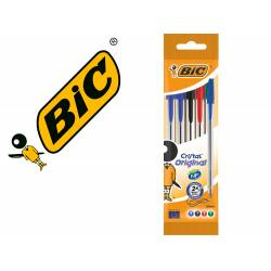Boligrafos Bic Cristal surtido 0,4 mm