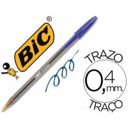 Boligrafo Bic Cristal azul pack 5 bolígrafos