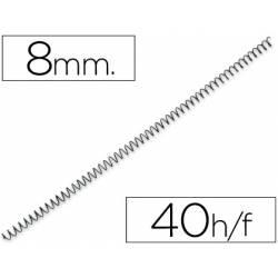 Espiral metalica marca Yosan paso 64 8 mm