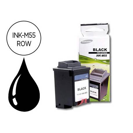 Cartucho Samsung INK-M55/ROW Negro