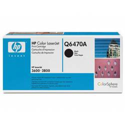 Toner HP 501A Q6470A color Negro