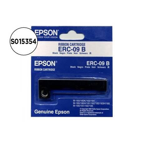 Cinta Epson TPV ERC‑09B negro