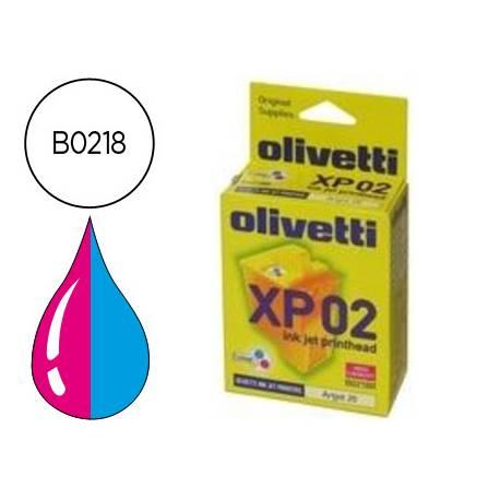 Cartucho Olivetti B0218 XP02 Tricolor