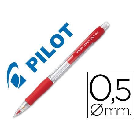 Portaminas Pilot Super Grip color rojo