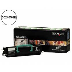 Toner Lexmark 24016SE color negro