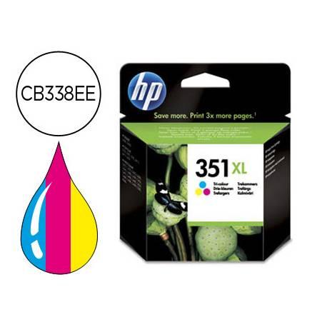 Cartucho marca HP 351XL Tricolor CB338EE