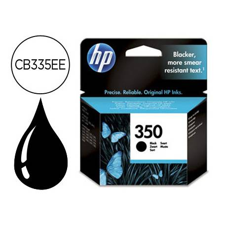Cartucho HP 350 color Negro CB335EE