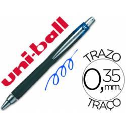 Rotulador-Bolígrafo roller Uni-Ball azul SXN-210 Jet Stream trazo 0,35 mm