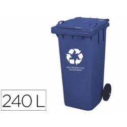 Contenedor de plastico Q-Connec de 240 L