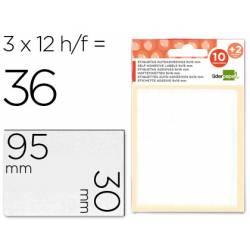Etiquetas Adhesivas marca Liderpapel Obsequio 30 x 95 mm