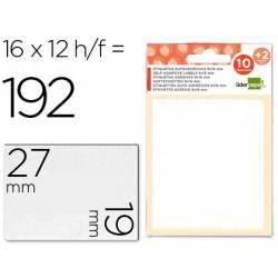 Etiquetas Adhesivas marca Liderpapel Obsequio 19 x 27 mm
