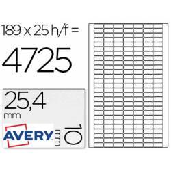 Etiquetas Adhesivas Removibles Avery