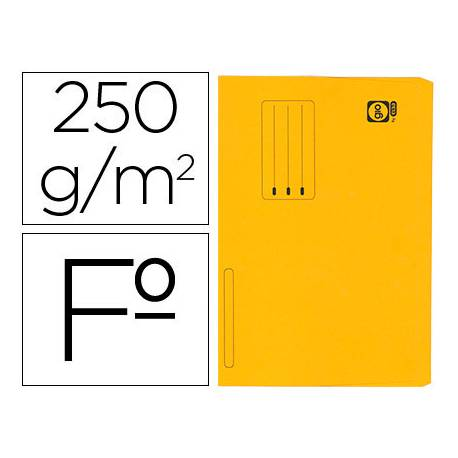 Subcarpeta Pocket Gio folio color amarillo
