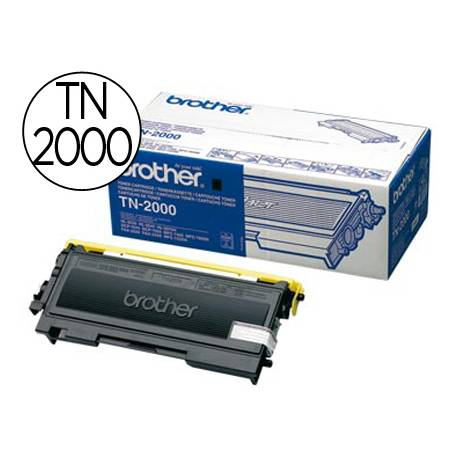 Toner marca Brother TN-2000 Negro