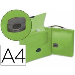 Cartera portadocumentos Beautone con Broche verde
