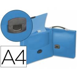Cartera portadocumentos Beautone con Broche azul