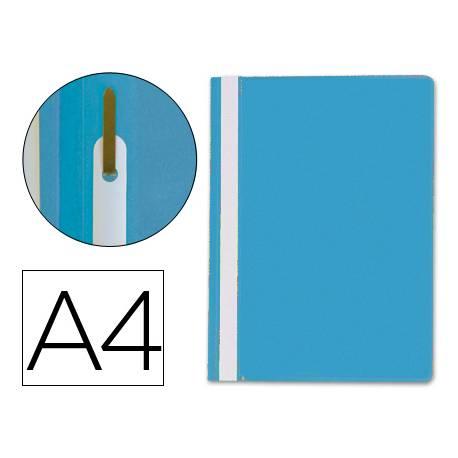 Carpeta dossier fastener Q-Connect Din A4 color azul