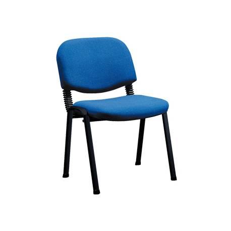 Silla confidente de oficina Q-Connect azul