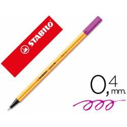 Rotulador Stabilo point 88/55 Violeta