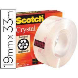 Cinta adhesiva marca Scotch super transparente